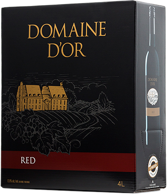 DOMAINE D'OR RED 4L