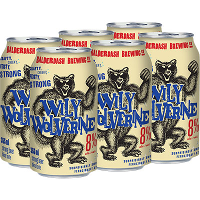 WILY WOLVERINE LAGER