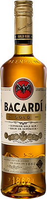 BACARDI GOLD 750ML