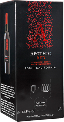 APOTHIC RED BLEND 3L
