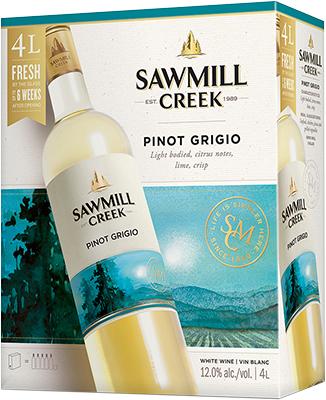 SAWMILL PINOT GRIGIO 4L