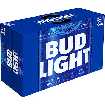 BUD LIGHT 24CANS