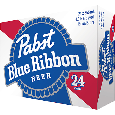 PABST BLUE RIBBON 24CAN