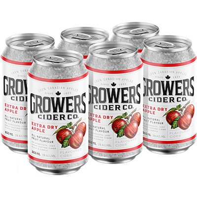 GROWERS APPLE 6CAN