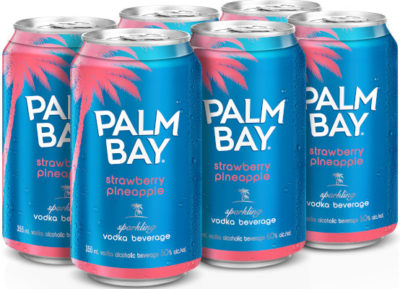 PALM BAY STRAWBERRY PINEAPPLE 6PK