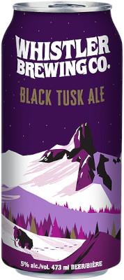 WHISTLER BLACK TUSK ALE TALL CAN