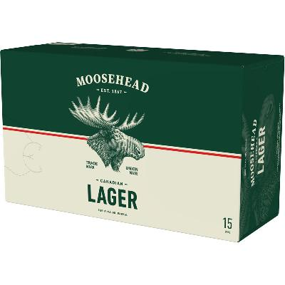 MOOSEHEAD LAGER 15CAN