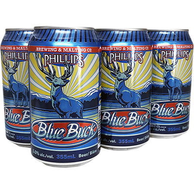 PHILLIPS BLUE BUCK ALE 6 CAN