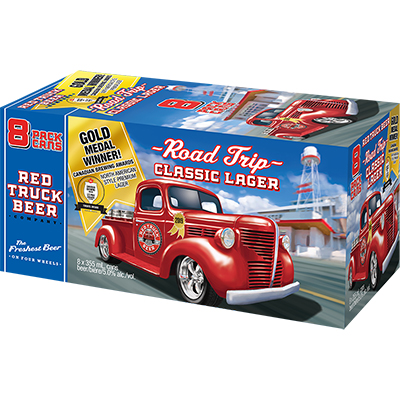 RED TRUCK LAGER 8CAN