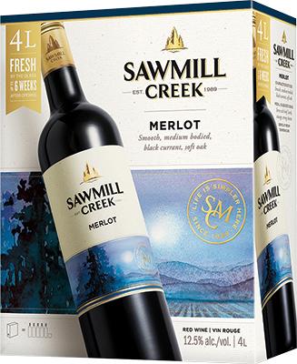SAWMILL CREEK MERLOT 4L