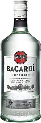 BACARDI WHITE 1.75L