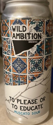WILD AMBITION MUSCATO SOUR