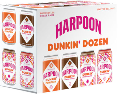 HARPOON DUNKIN' DONUTS MIX PACK