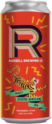 RUSSELL AFRICAN HAZY IPA