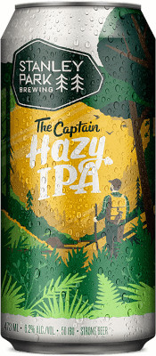 STANLEY PARK THE CAPTAIN HAZY IPA TALL CAN
