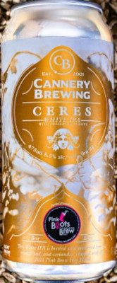CANNERY CERES WHITE IPA WITH LEMONS