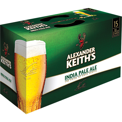 KEITH'S 15PK CAN