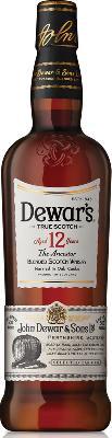 DEWAR'S 12YR DOUBLE AGED
