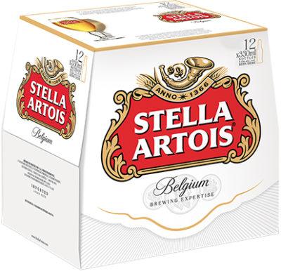 STELLA ARTOIS 12 BOTTLE