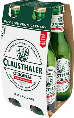 CLAUSTHALER NON ALC 4PK