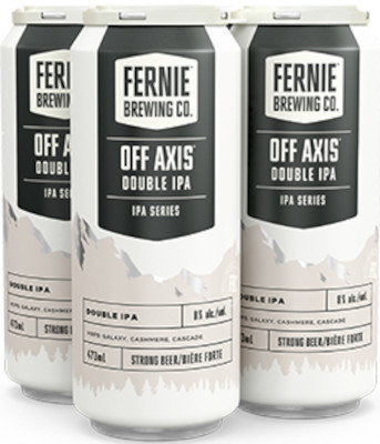 FERNIE OFF AXIS DOUBLE IPA