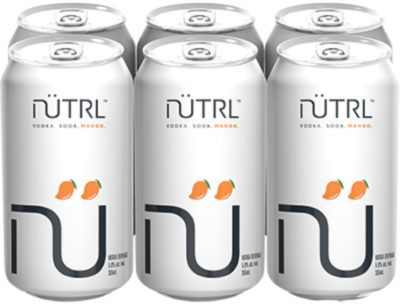NUTRL MANGO VODKA SODA