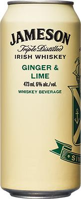 JAMESON GINGER & LIME 473ML