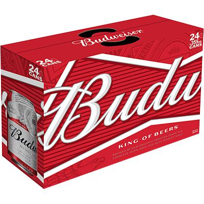 BUDWEISER 24 CAN