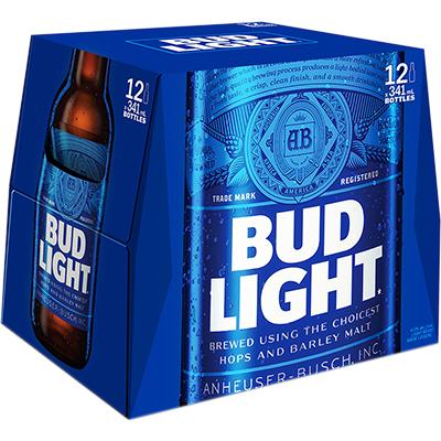 BUD LIGHT 12BTL