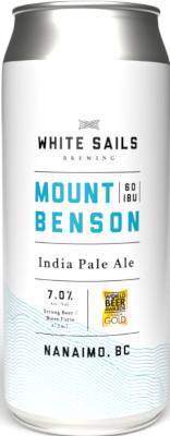 WHITE SAILS MT. BENSON IPA 4P
