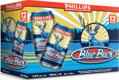 PHILLIPS BLUE BUCK 12CANS