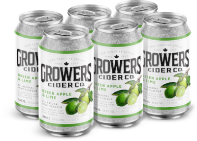 GROWERS APPLE LIME 6CAN
