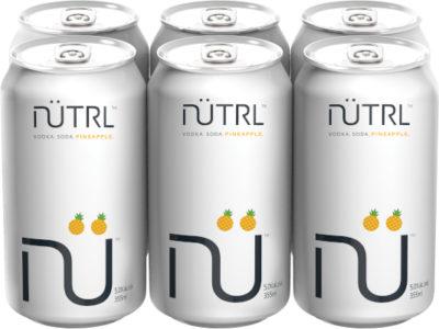 NUTRL PINEAPPLE 6PK