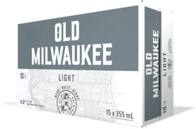 OLD MIL LIGHT 15 CAN