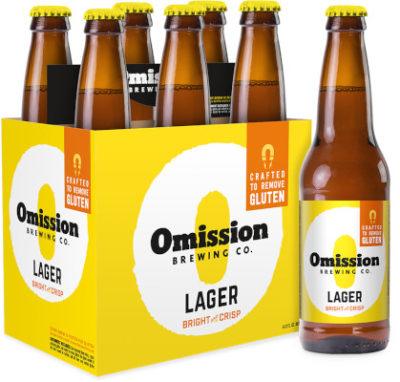 OMISSION LAGER GLUTEN FREE