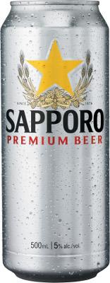 SAPPORO 500ML