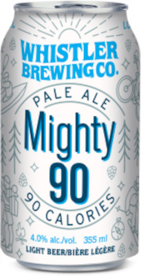 WHISTLER MIGHTY 90 PALE ALE