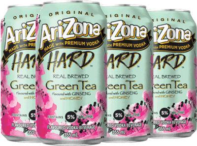 ARIZONA SPIKED GREEN TEA CAN
