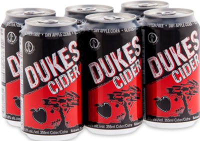 DUKES CIDER 6CANS