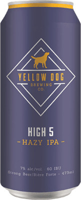 YELLOW DOG HIGH 5 HAZY IPA 4P